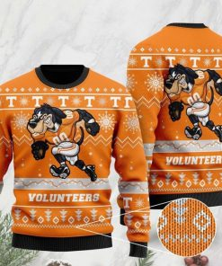 the tennessee volunteers football christmas ugly sweater 2 - Copy