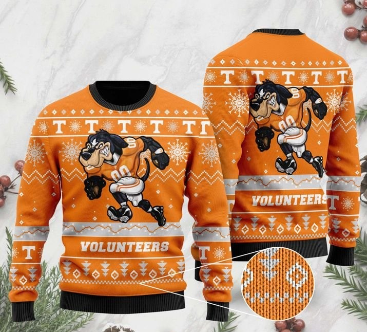 the tennessee volunteers football christmas ugly sweater 2 - Copy (3)