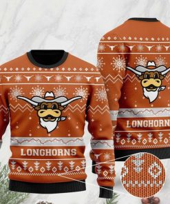 the texas longhorns football christmas ugly sweater 2 - Copy (2)