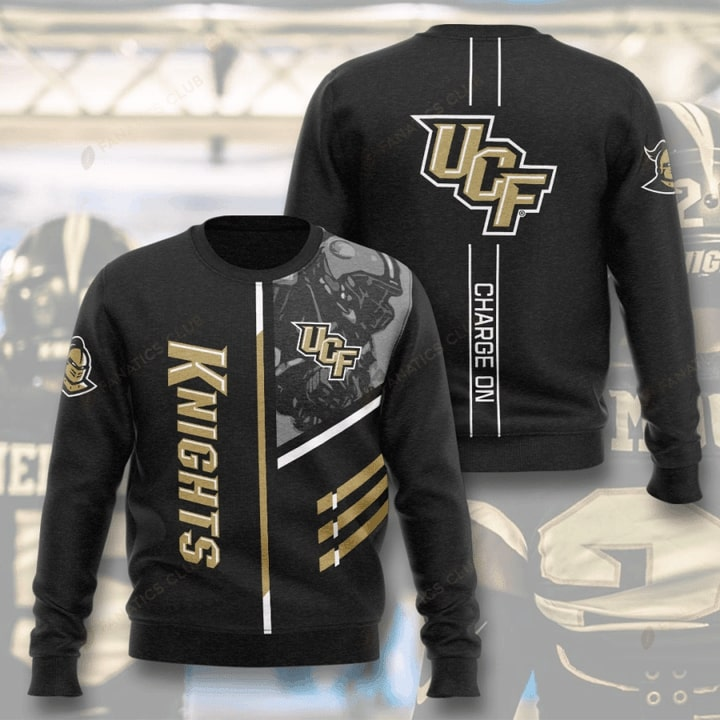ucf knights football charge on full printing ugly sweater 3
