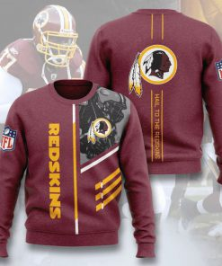 washington redskins hail to the redskins full printing ugly sweater 3