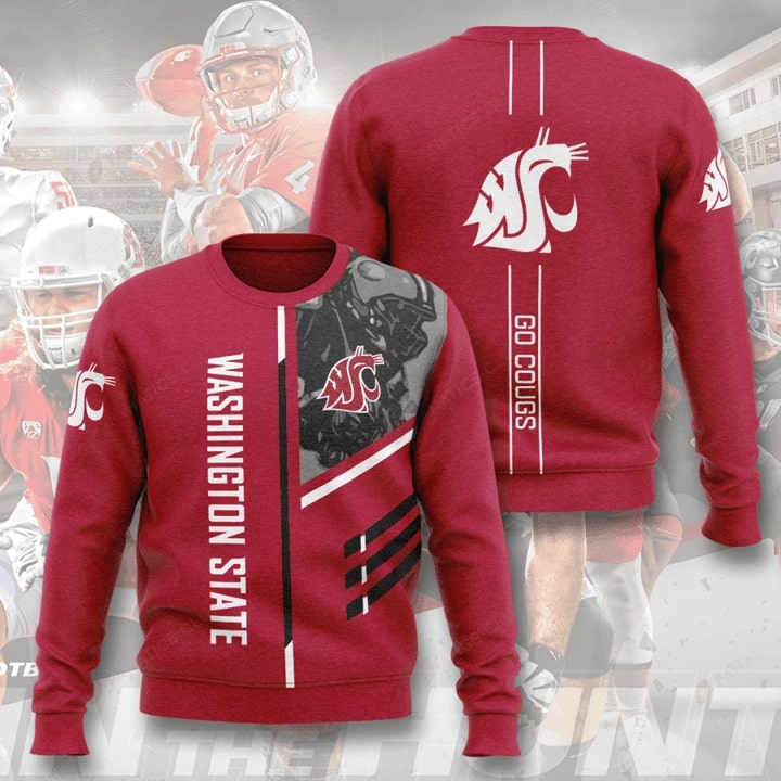 washington state cougars football go cougs full printing ugly sweater 3