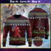 we wish you a merry christmas bigfoot christmas ugly sweater