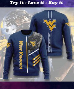 west virginia mountaineers football hail west virginia full printing ugly sweater