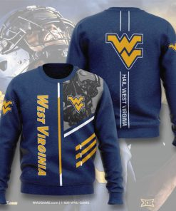 west virginia mountaineers football hail west virginia full printing ugly sweater 4