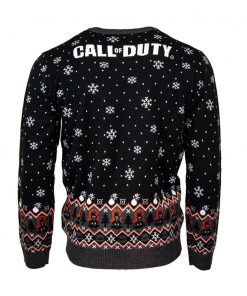 call of duty monkey bomb clang clang bang all over printed ugly christmas sweater 5