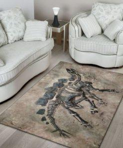 dinosaur fossils full printing rug 4