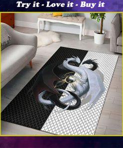 dragon lovers full printing rug