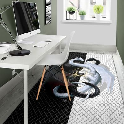 dragon lovers full printing rug 5