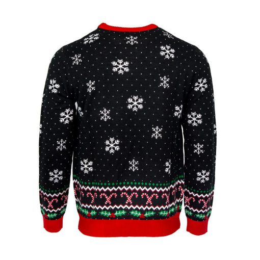 friends its christmas could i be more excited all over printed ugly christmas sweater 5