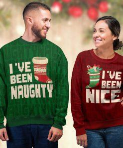 ive been nice couple shirt ugly christmas sweater 4