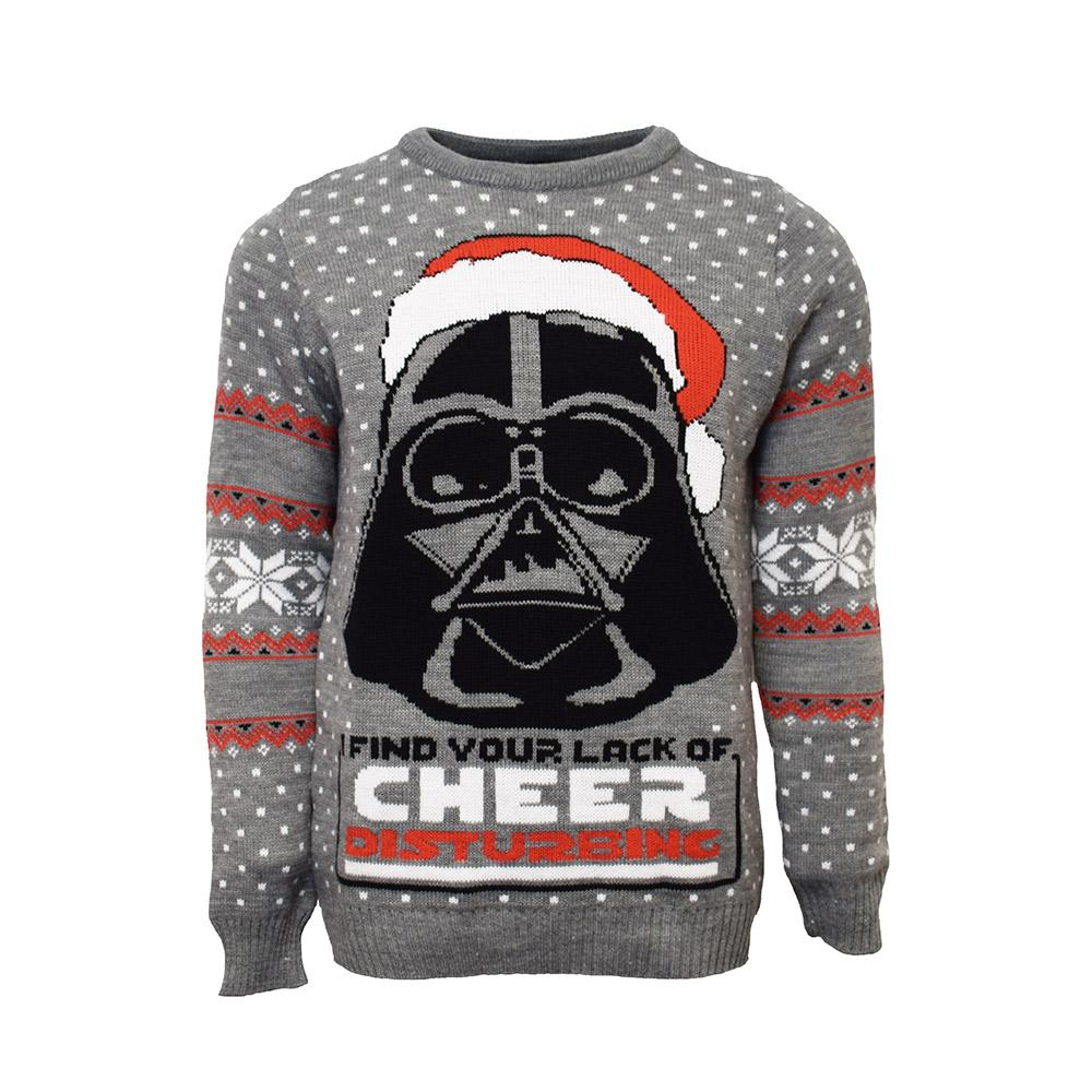 star wars darth vader all over printed ugly christmas sweater 2