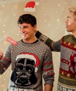 star wars darth vader all over printed ugly christmas sweater 5