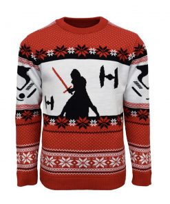star wars kylo ren all over printed ugly christmas sweater 3