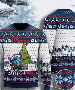 stitch lover merry Stitchmas ugly christmas sweater 2 - Copy (3)