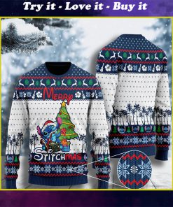 stitch lover merry Stitchmas ugly christmas sweater