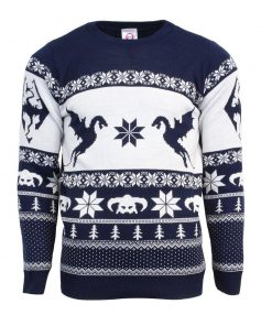 the elder scrolls v skyrim all over printed ugly christmas sweater 3