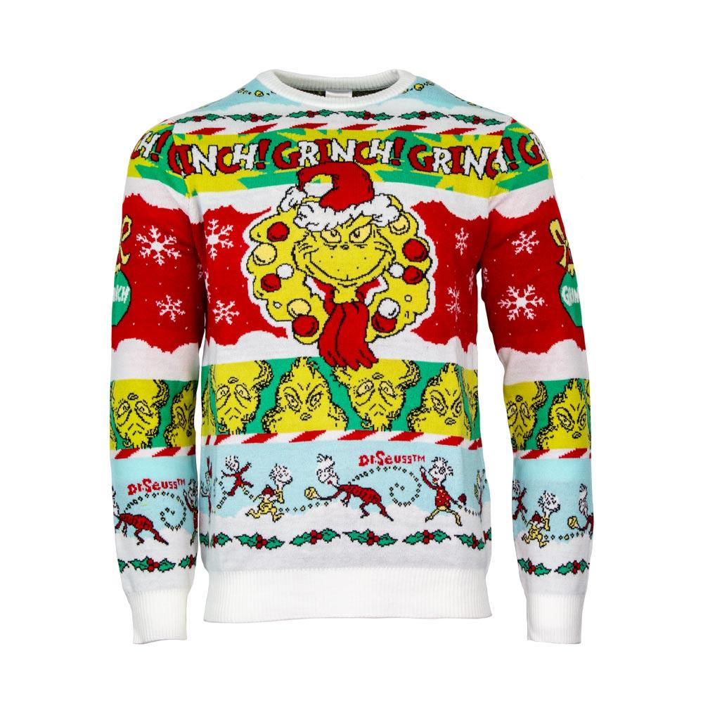 the grinch all over printed ugly christmas sweater 5