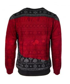 trek the halls all over printed ugly christmas sweater 5