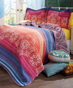 bohemian symbols vintage all over printed bedding set 4