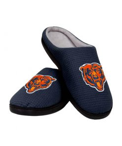 chicago bears football full over printed slippers 2