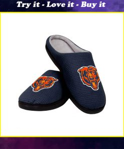 chicago bears football full over printed slippers