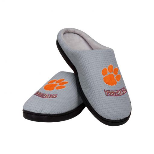 clemson tigers football full over printed slippers 2