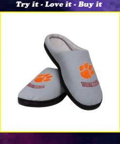 clemson tigers football full over printed slippers
