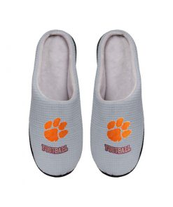 clemson tigers football full over printed slippers 4