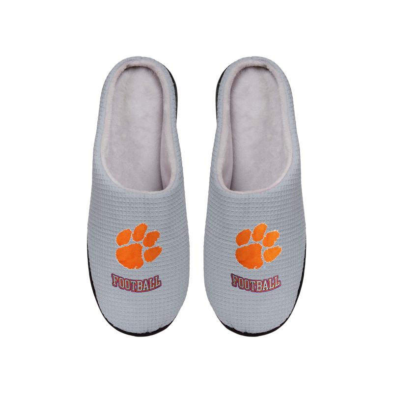 clemson tigers football full over printed slippers 5