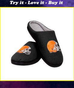 cleveland browns football full over printed slippers