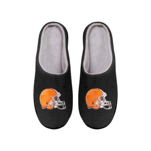 cleveland browns football full over printed slippers 5
