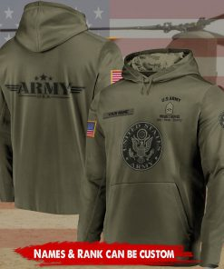 custom your name united states army proudly served all over printed shirt 2