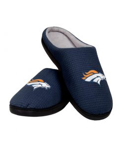denver broncos football team full over printed slippers 2