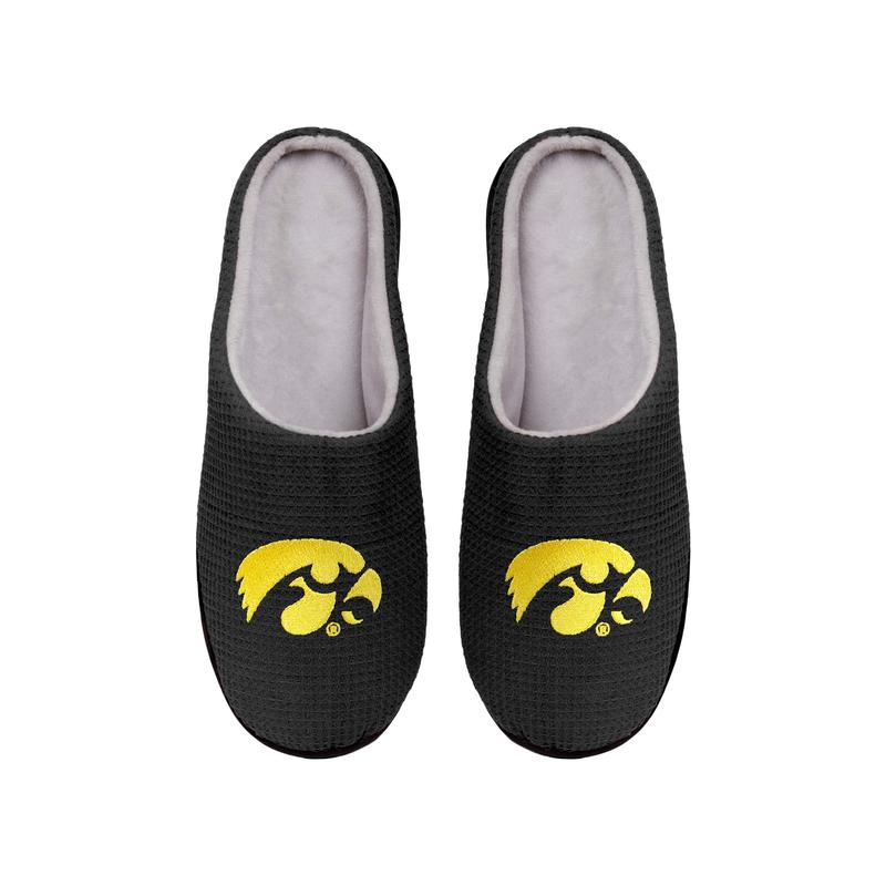 iowa hawkeyes football full over printed slippers 4