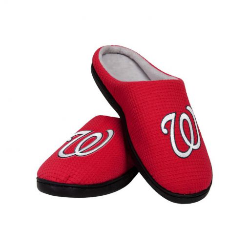 major league baseball washington nationals full over printed slippers 2