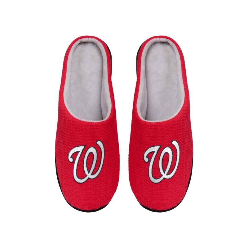 major league baseball washington nationals full over printed slippers 4