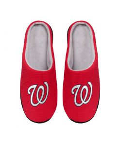 major league baseball washington nationals full over printed slippers 5