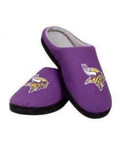 minnesota vikings football full over printed slippers 2