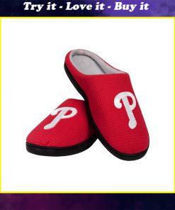 mlb philadelphia phillies full over printed slippers