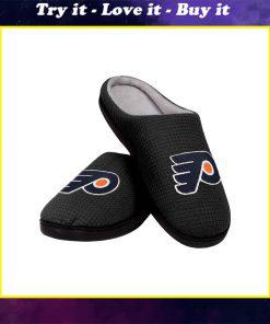 national hockey league philadelphia flyers full over printed slippers