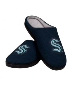 national hockey league seattle kraken full over printed slippers 2