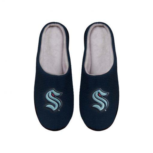 national hockey league seattle kraken full over printed slippers 4