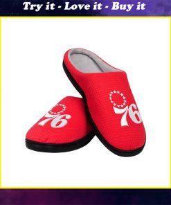 nba philadelphia 76ers full over printed slippers