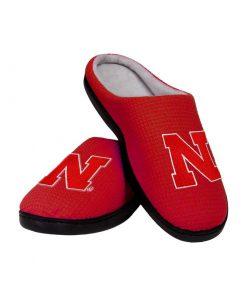nebraska cornhuskers football full over printed slippers 2