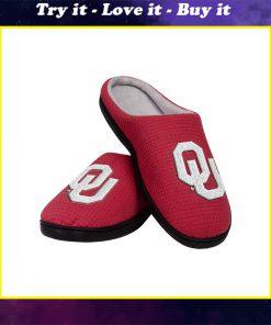 oklahoma sooners football full over printed slippers