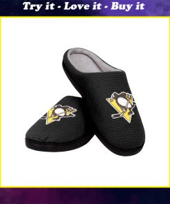 pittsburgh penguins nhl full over printed slippers