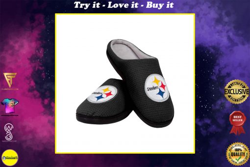 pittsburgh steelers football full over printed slippers