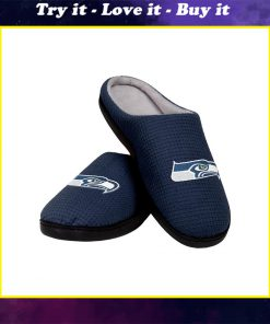 seattle seahawks football full over printed slippers