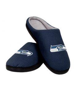 seattle seahawks football full over printed slippers 3
